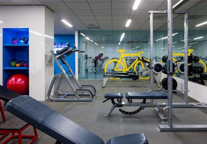 Directv S El Segundo Headquarters Office Snapshots Gym Interior Fitness Center Design Design