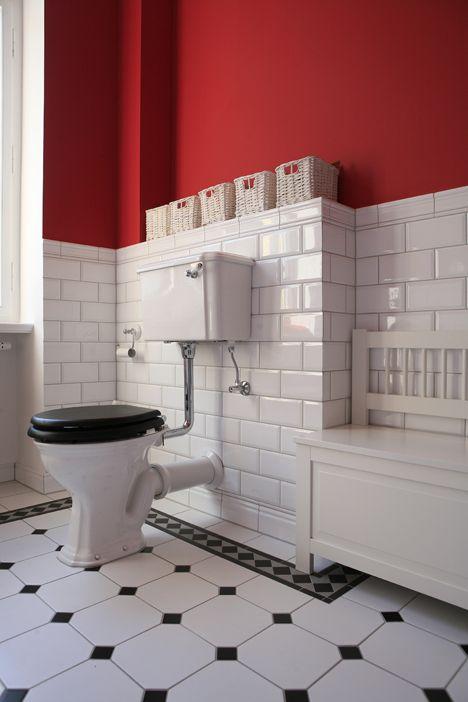 fliesen metro - Google-Suche | Bath black & white art deco 1920 ...