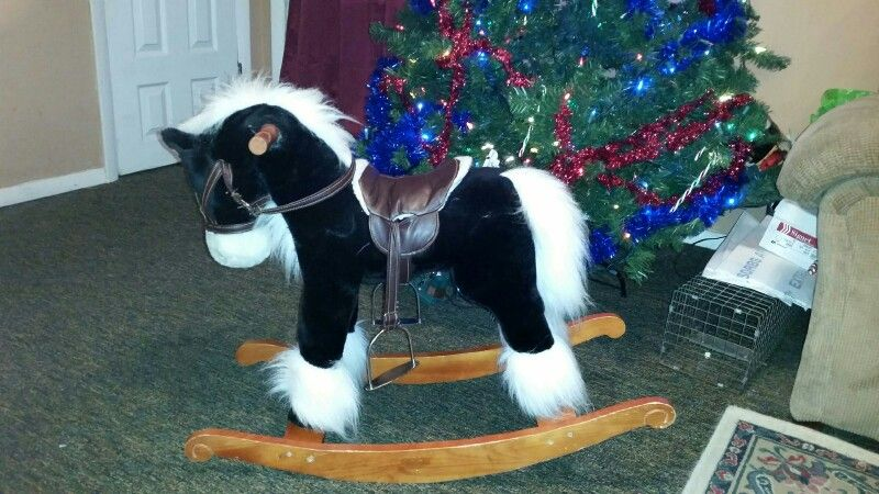 This is a horse I got Gage for Christmas