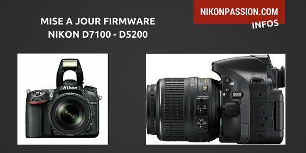 Nikon a publié deux mises à jour firmwares pour les reflexNikon D7100 et Nikon D5200. Voici les apports de ces nouvelles versions et comment faire la mise à jour sur votre boîtier. Mise à jour …
