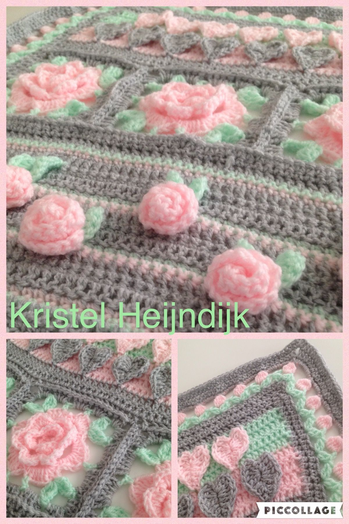 Pin de Sharlene Robinson en Crocheting | Pinterest | Flores de ...