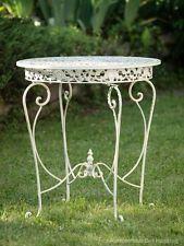Gartentisch Tisch Garten Schmiedeeisen Eisen Metall Antik Stil