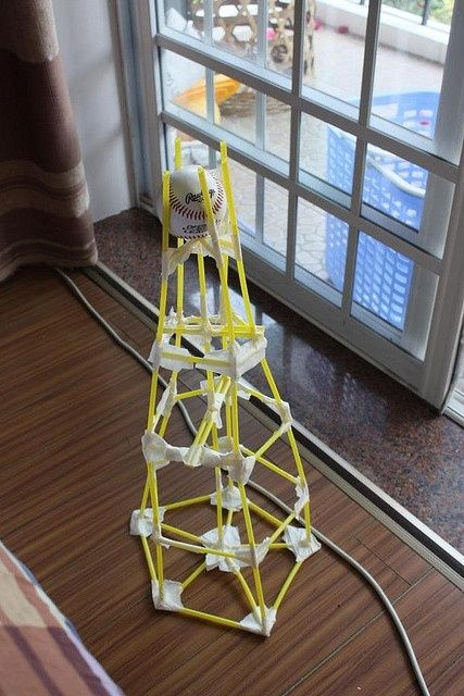 Straw Towerideal Activity For Problem Solving And Cooperative Groups