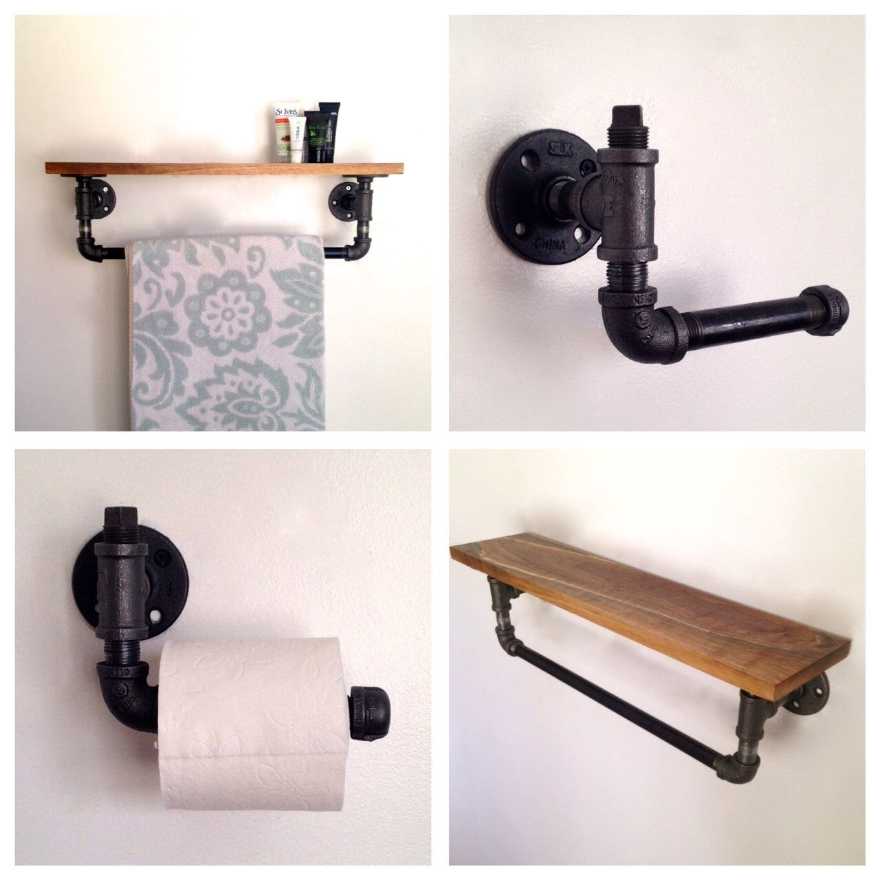 bath accessories items pipe etsy pinterest popular bathroom industrial on renovation for pin iron ideas