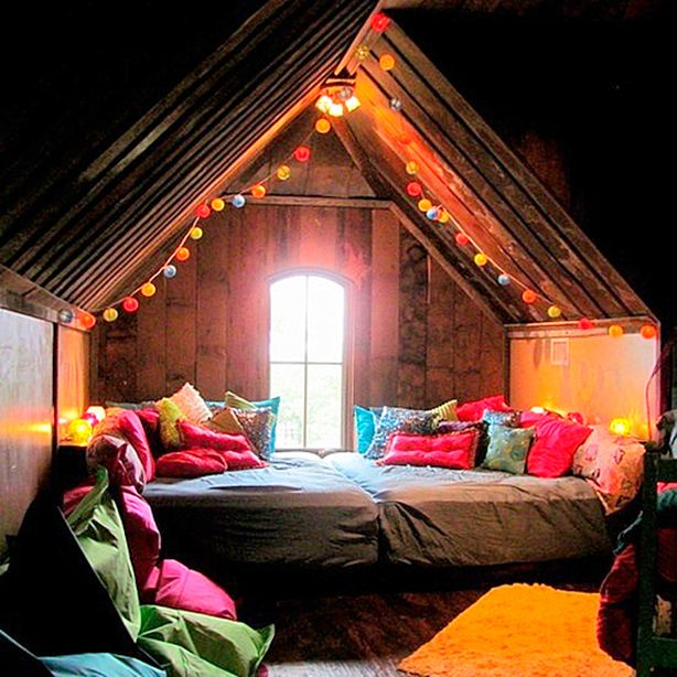 The 17 most incredible homemade dens we 39 ve ever seen for Best bedroom designs ever