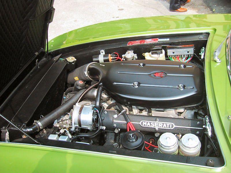 Maserati Ghibli SS Spider (1970-1973 Model) 5.0 Litre Maserati V8 engine