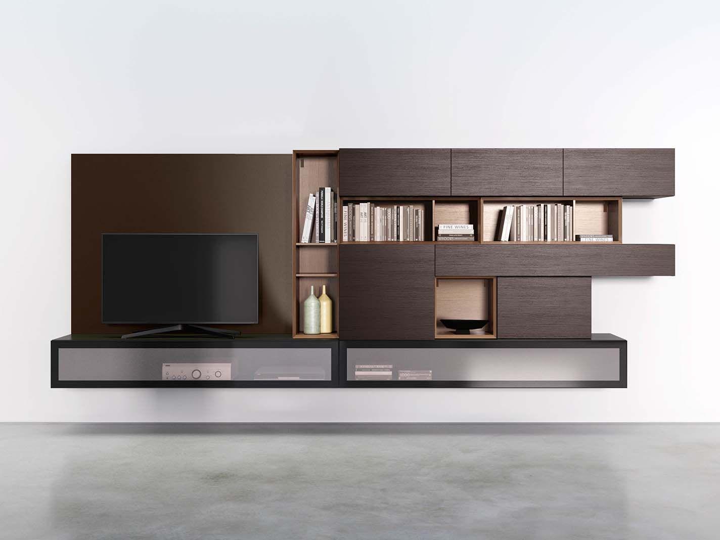 Pianca Mobili ~ Spazio s438 sistema living spazio composition pianca www