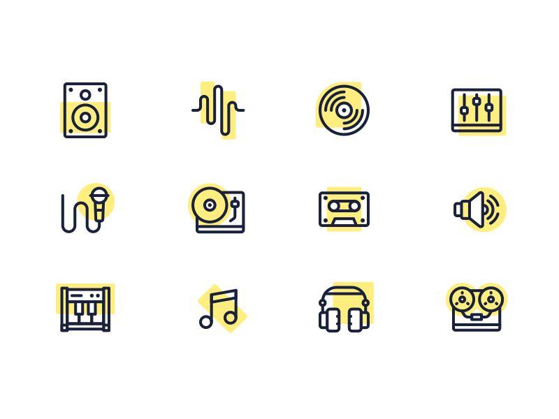 Music Icons by Skang