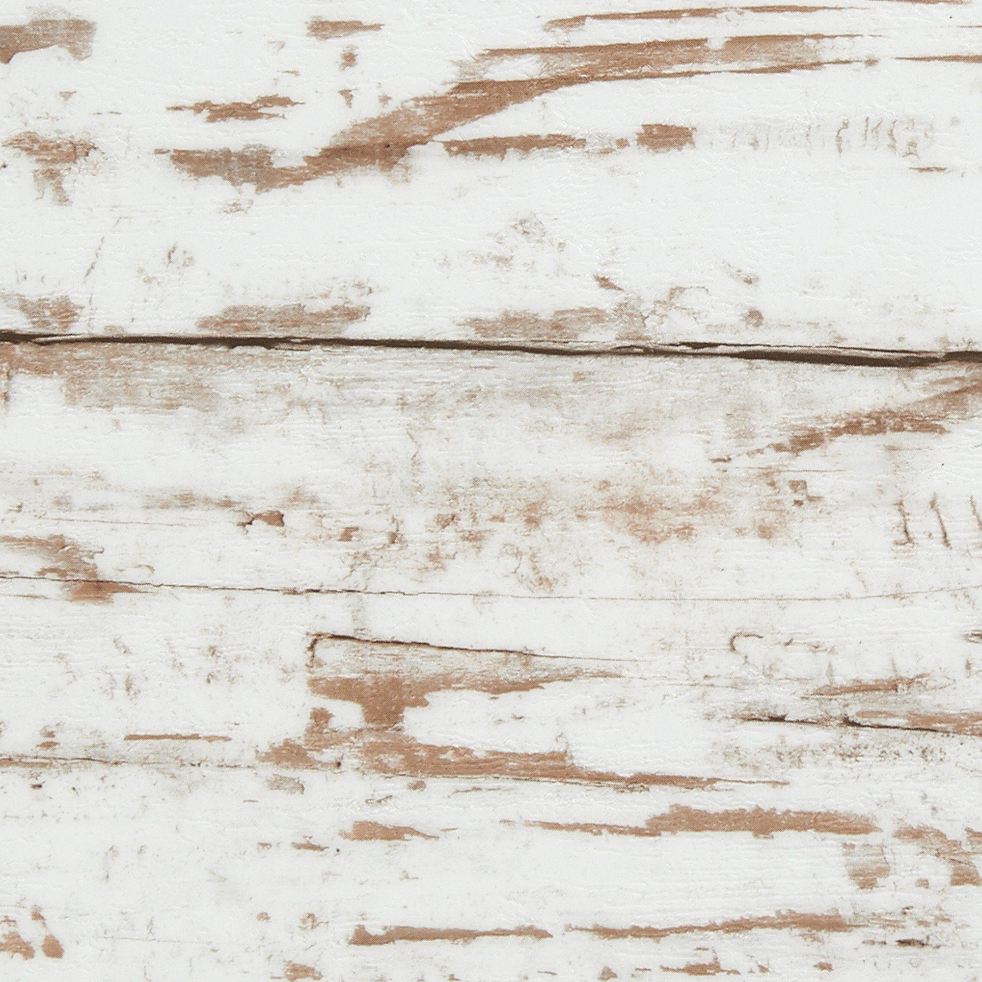 Designbelag Vinylboden Klick Planke Holzoptik Weiß Grau Antik - Vinylboden im baumarkt