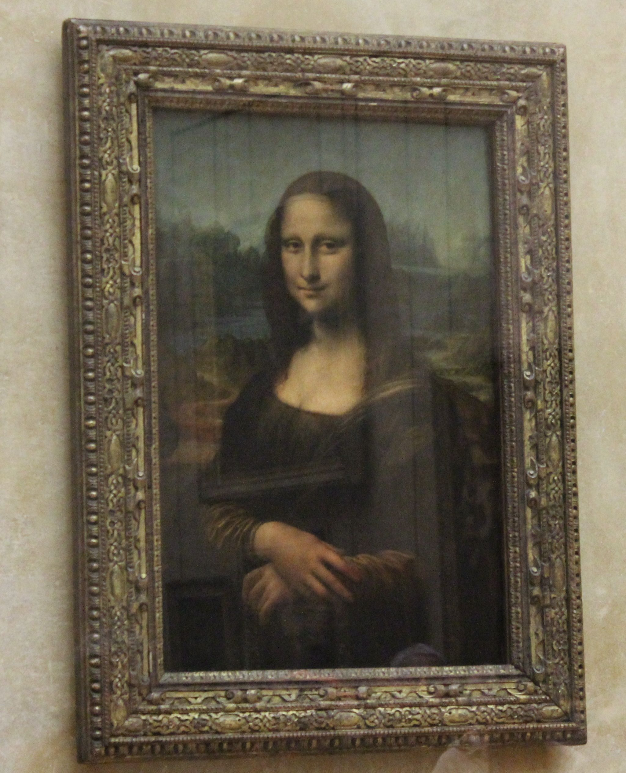 Mona Lisa In Mus Du Louvre - Paris France