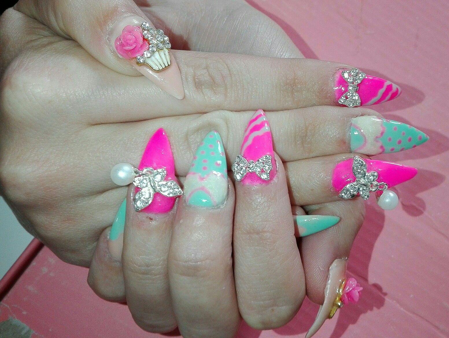 Pin by vera belchior on nail art pinterest