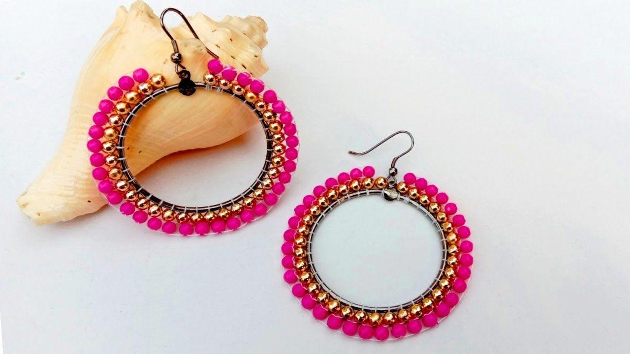 Diy simple beaded earrings making useful easy