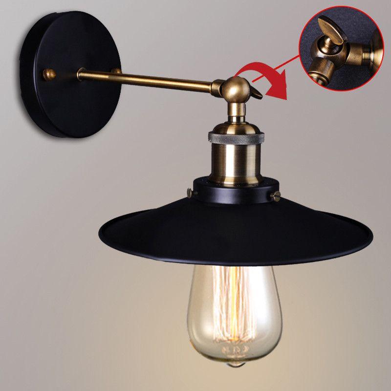 Retro Loft Edison Wall Lamp Bedroom Louis Poulsen Wall Lights For Stunning Lamp Bedroom Decorating Design