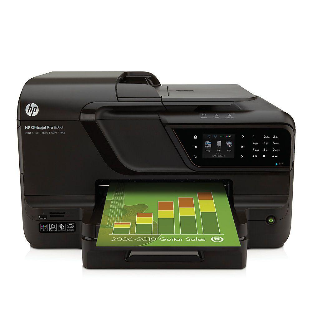 Best Home Office Laser Printer Copier Scanner: HP Officejet Pro 8600 E-All-In-One Printer, Copier