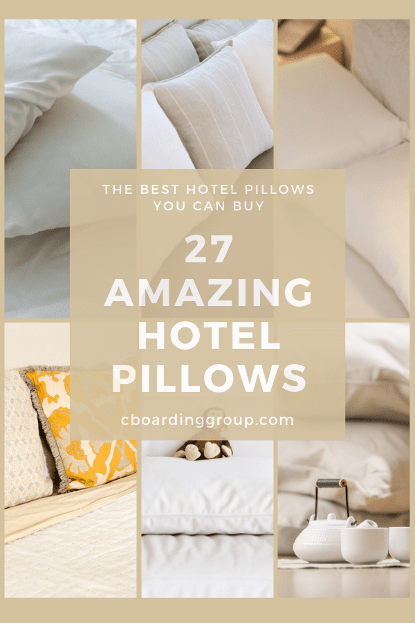 27 Amazing Hotel Pillows The Best Hotel Pillows You Can Buy