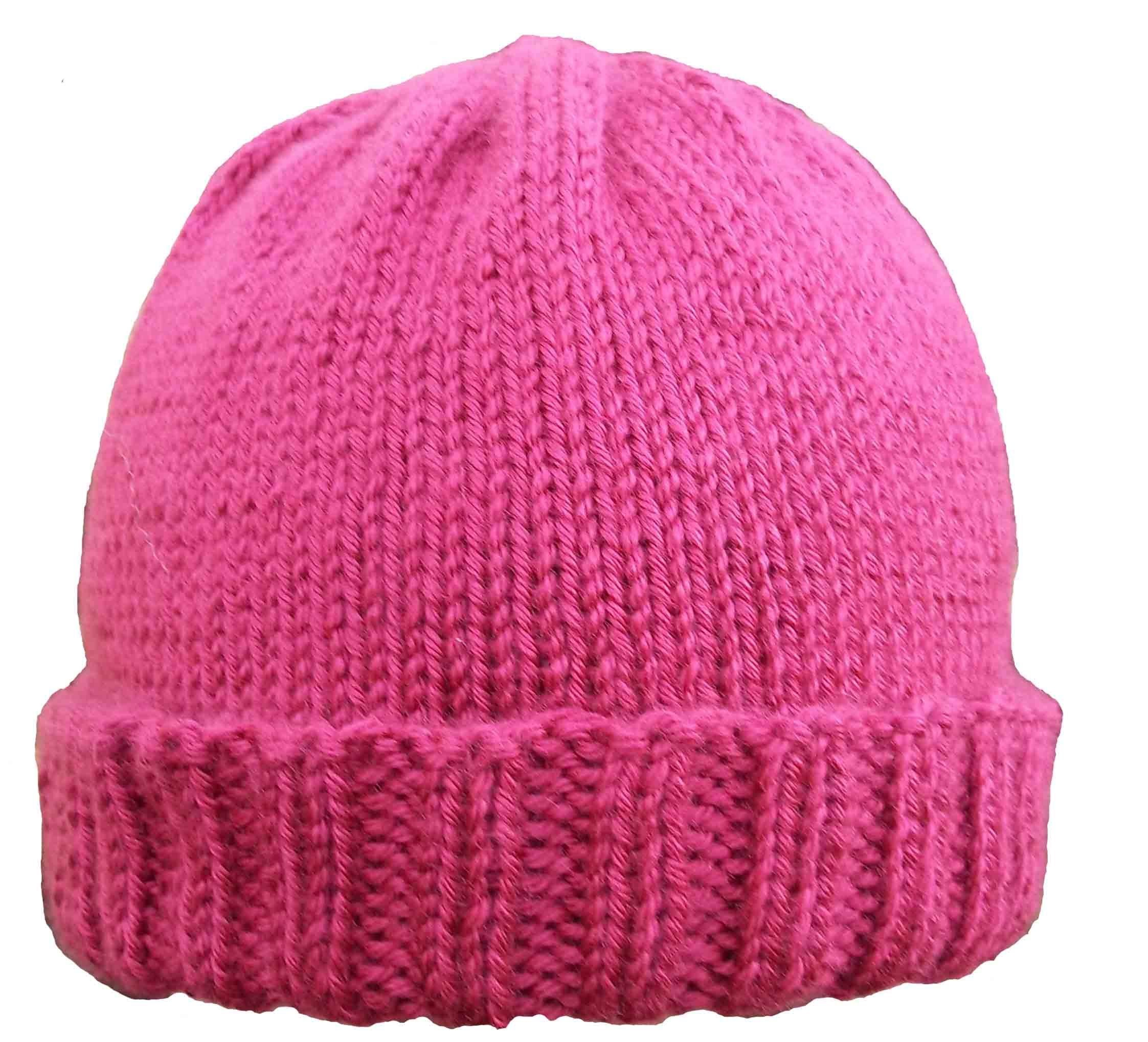 How to knit a hat on a round loom | Round loom knitting ...
