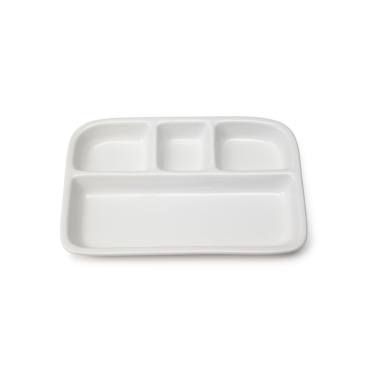 Stoneware Tv Dinner Trays Ceramic Plate Uncommongoods