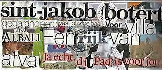 my artwork - aqua vitae: 16juli16 Collage with text [2010]