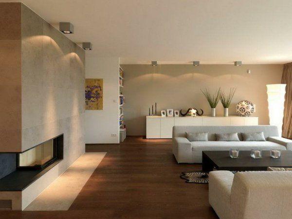 Wohnzimmer    Kamin Haus    Wohnzimmer Pinterest - wohnzimmer beige modern