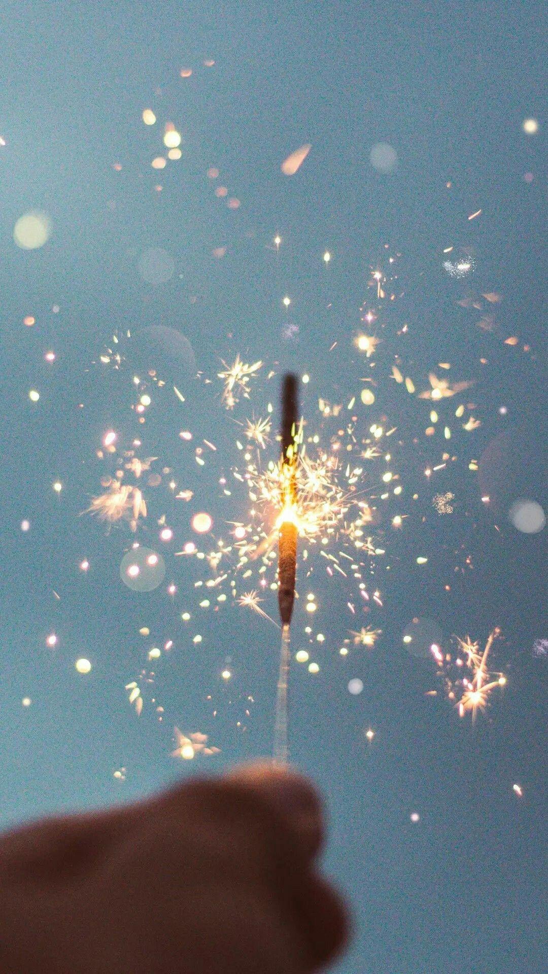 Обои искры, бенгальский огонь, sparkler. Разное foto 15