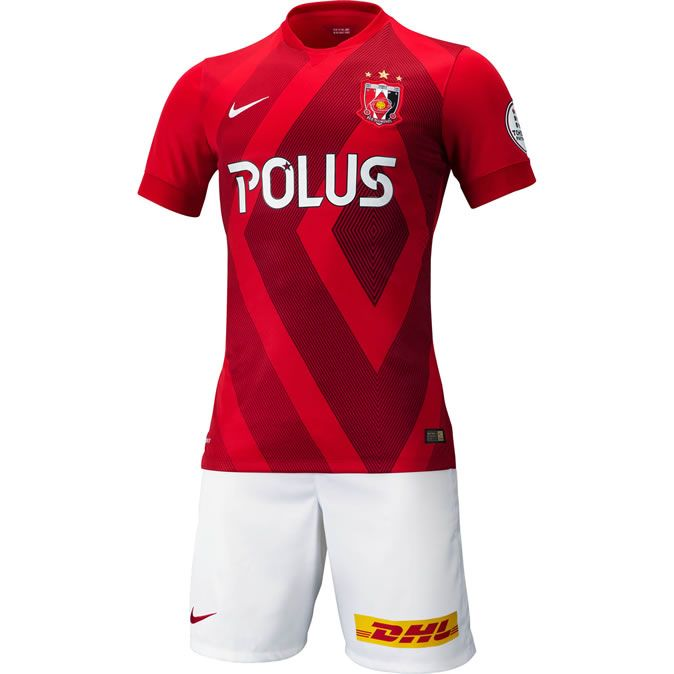 Urawa Red Diamonds 2015 Nike Home Kits   Sports shirts, Urawa reds ...