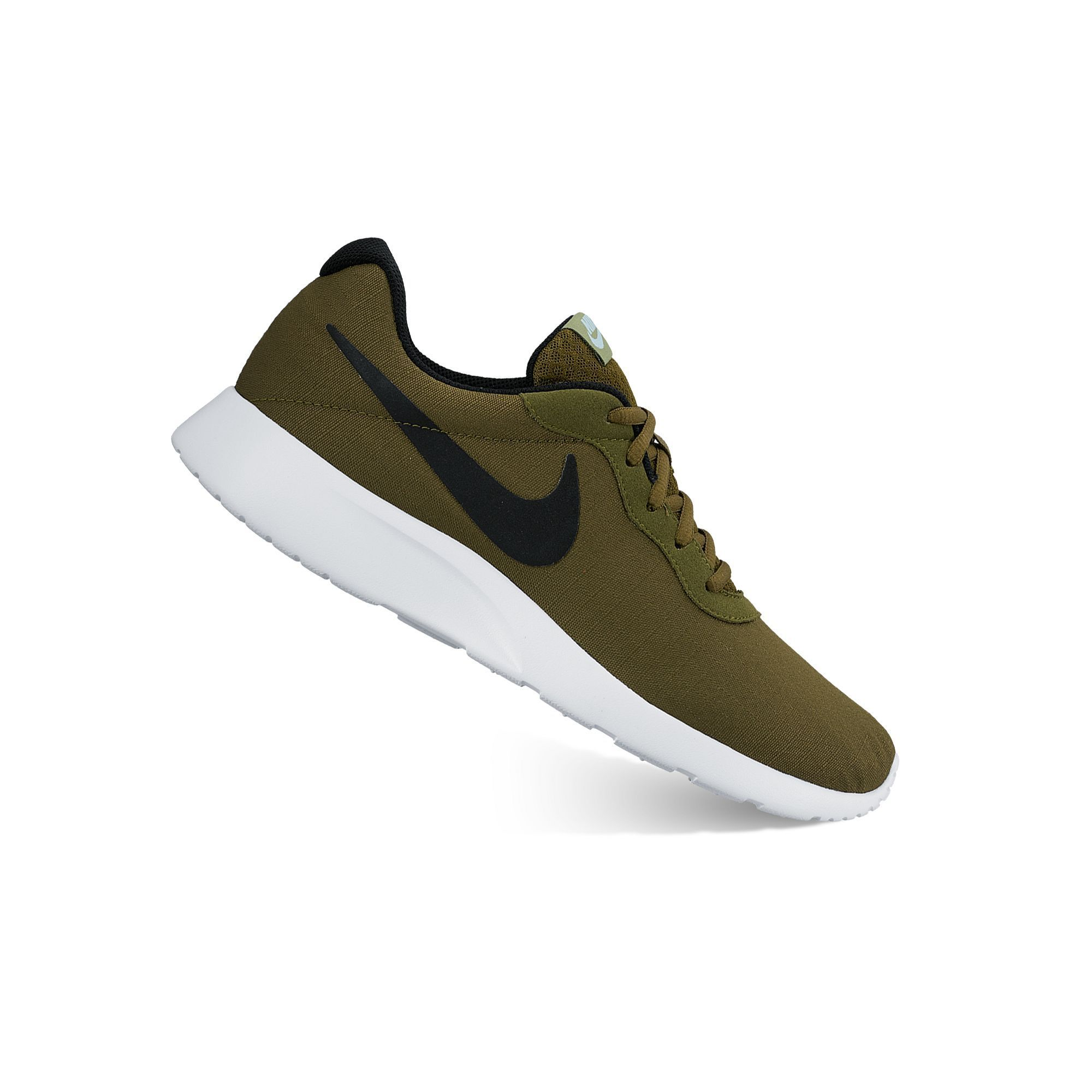 purchase cheap 007fe 7e58d Nike Tanjun Premium Men s Shoes, Size  10.5, Green