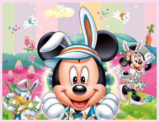 Disney ostern disney ostern pinterest mice - Ostern wallpaper ...