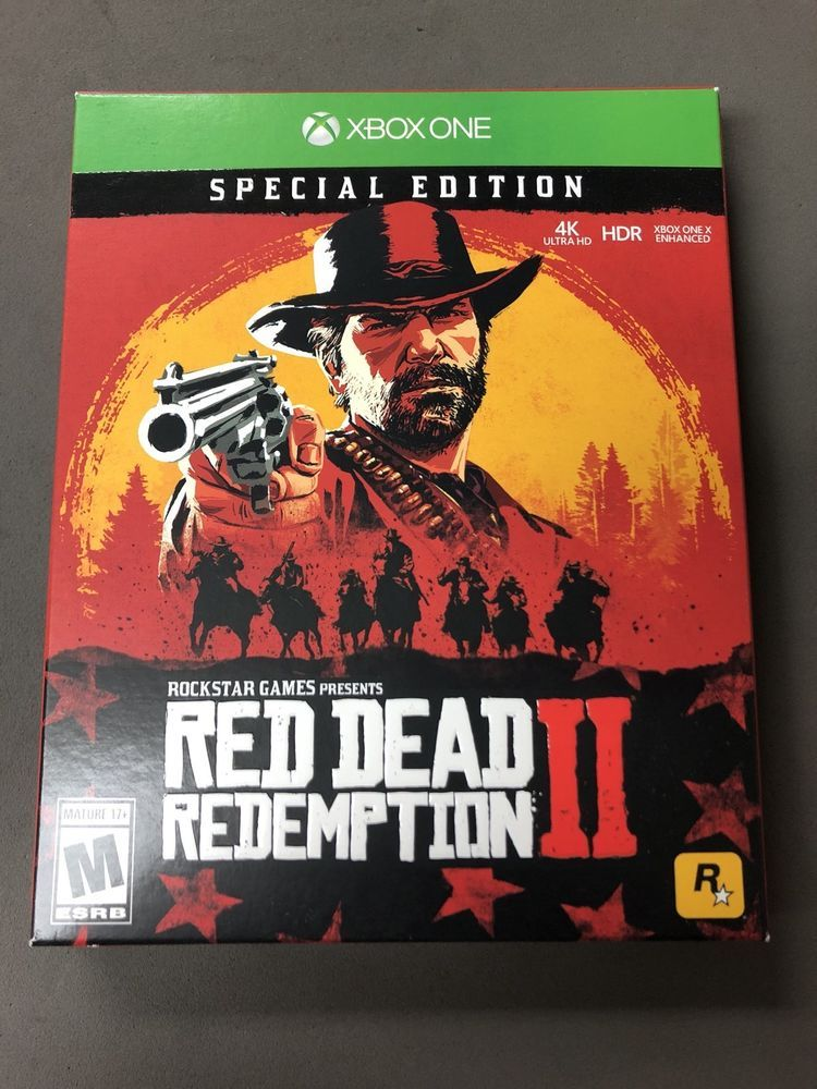Red Dead Redemption 2 Special Edition Xbox One Sealed Fast Free Shipping Red Dead Redemption Red Dead Redemption Ii Xbox One
