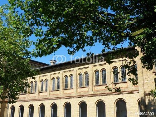 Fassade der Alten Weberei in Bielefeld im Teutoburger Wald