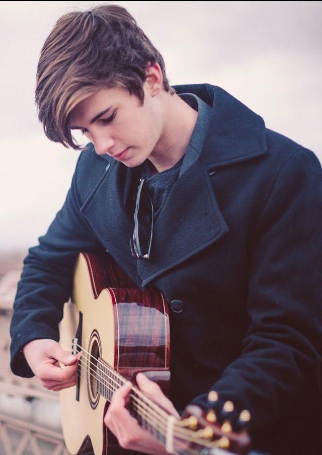 I Love His Beautiful Guitar Singer Music Mix Cute Guys
