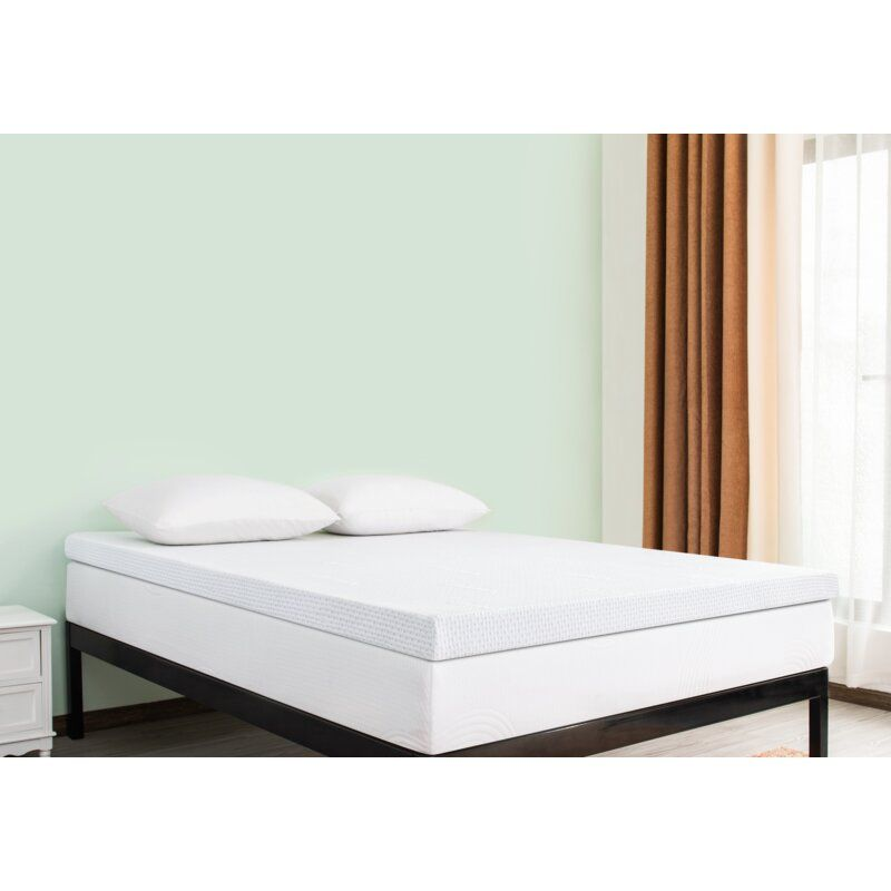 247 Chun Yi Full 4 Medium Gel Memory Foam Mattress Wayfair Adjustable Bed Base Mattress Sizes Memory Foam Mattress