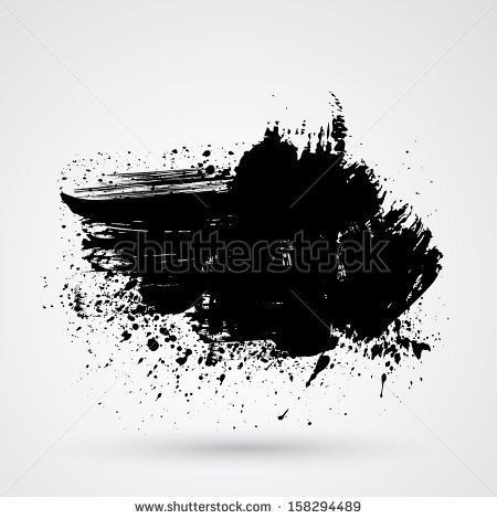 Stock Images similar to ID 197145554 - vector brush strokes circle...