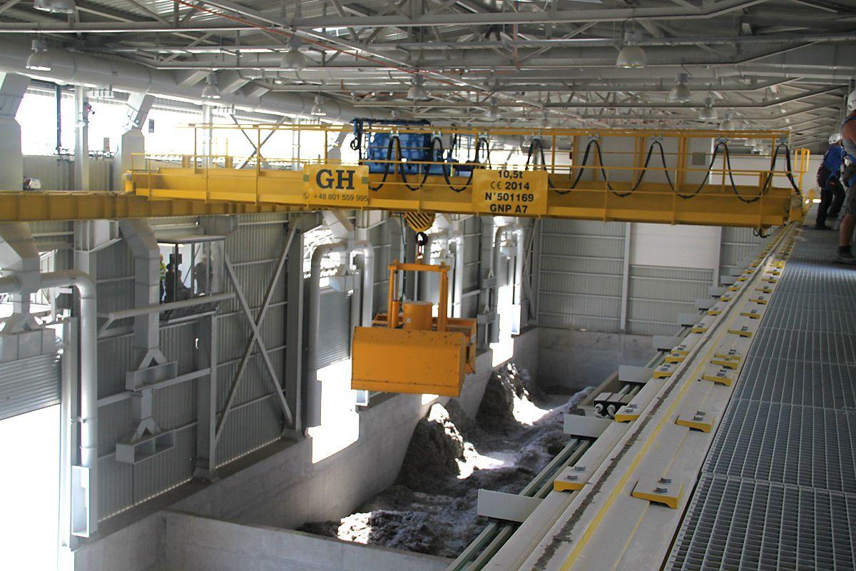 Installation Cement Warta in Poland. GH Cranes & Components