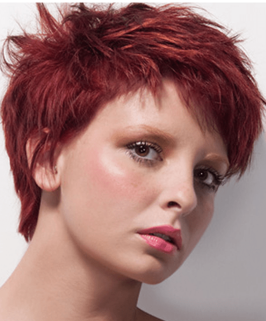 Lesson 3 - Short Round Graduation Variation Haircut | Pixie Cut ...