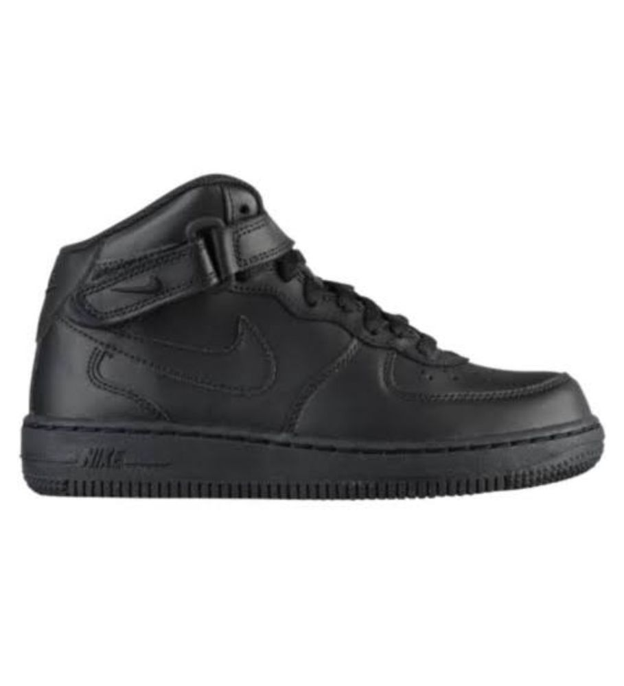 Nike Air Force 1 Mid (PS) Preschool Kids Shoes Leather Uptowns Black  314196-004  fashion  clothing  shoes  accessories  kidsclothingshoesaccs   unisexshoes ... a85edb5b0f11