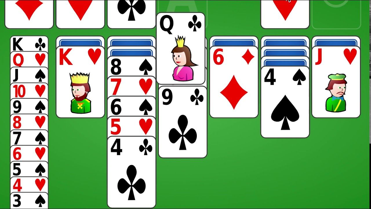 how to win solitaire on google