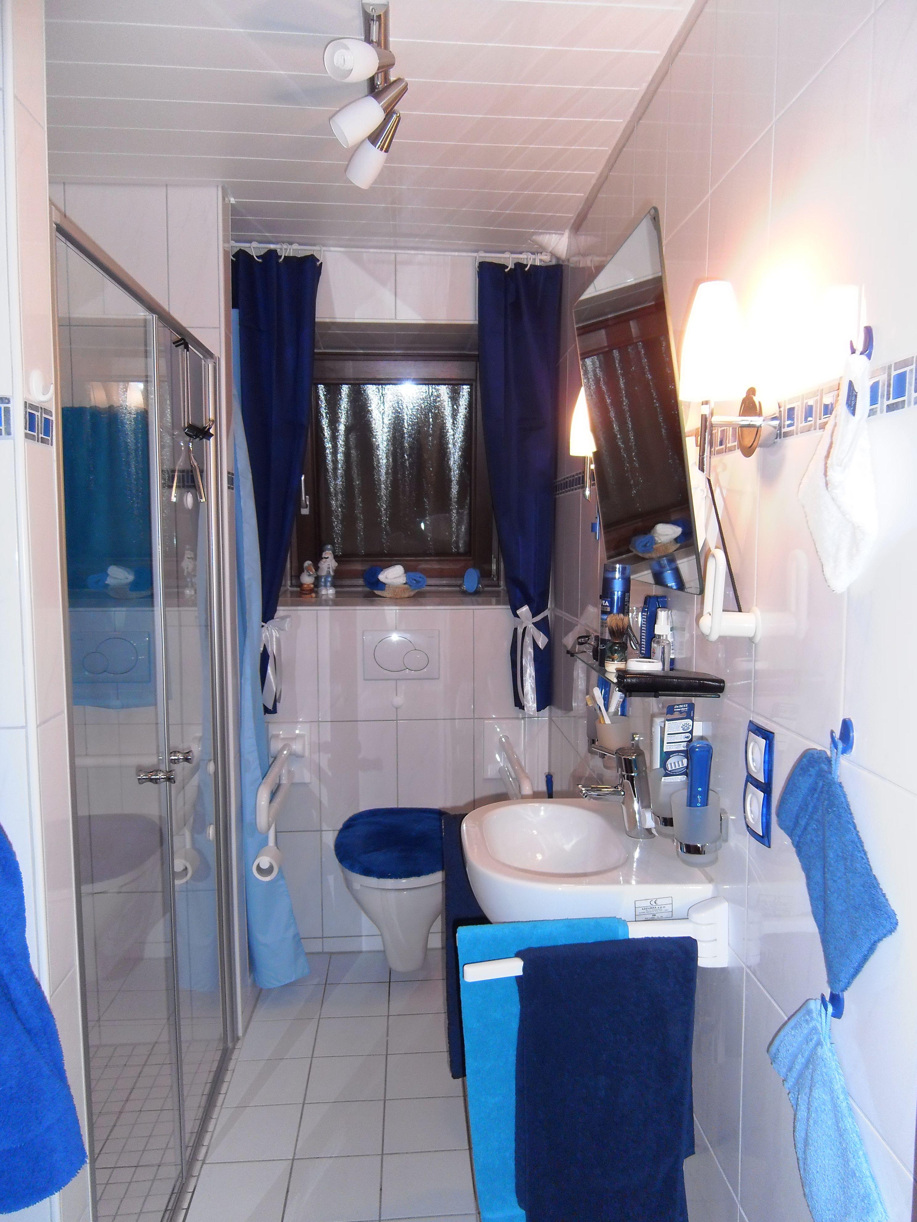 Badezimmer nach der Sanierung   ohne Wandumbau mit ...