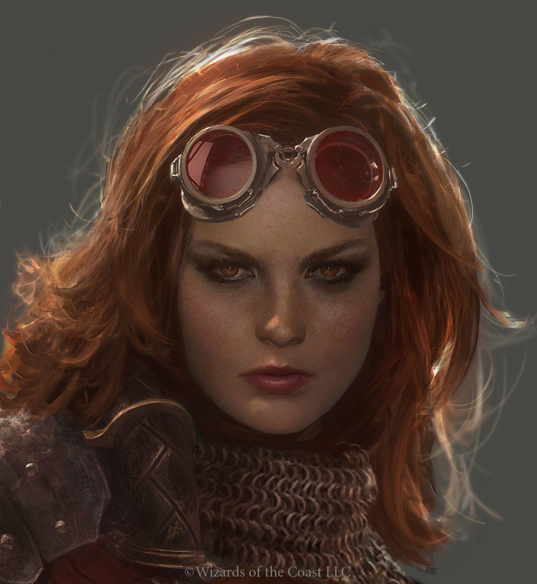 Chandra Portrait by Cryptcrawler.deviantart.com on @deviantART
