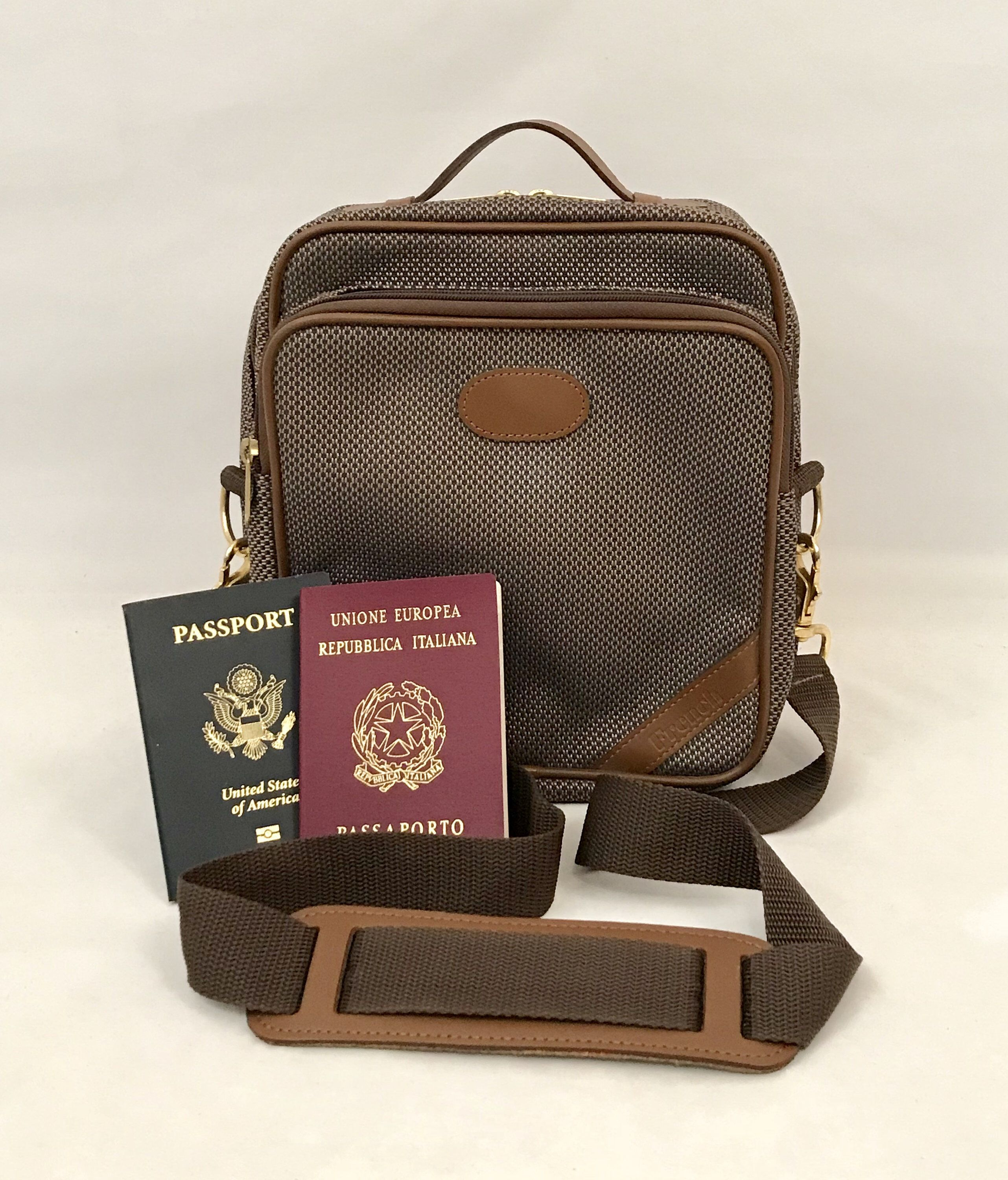 5077278e5684 70s Messenger Carry-On Bag The French Luggage Company