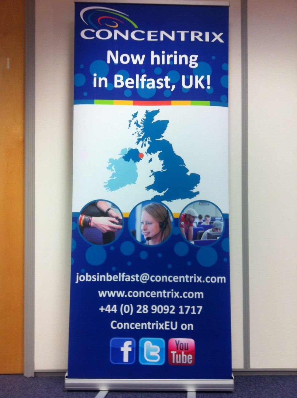 Loving our new recruitment banner! See it in action at the