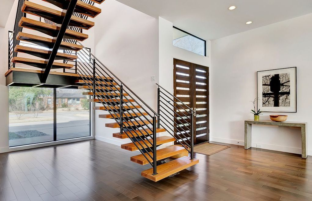 Best Enhance Your Home With Stair Railings Styles Floating 400 x 300
