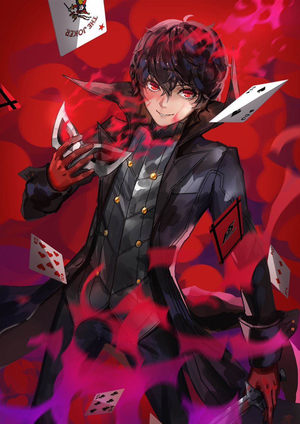 Joker (Persona 5)/2090417 Zerochan Persona 5 anime