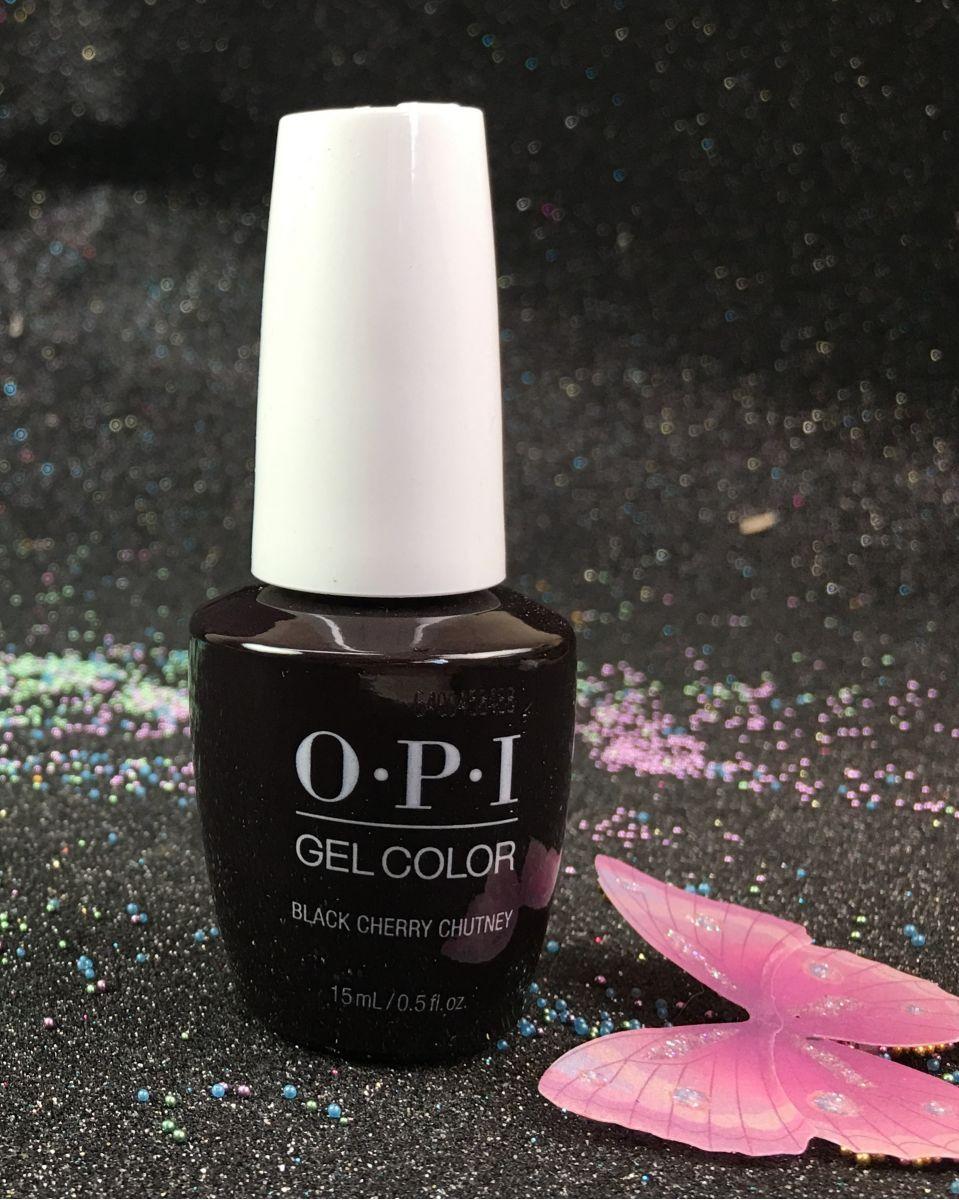 Opi Black Cherry Chutney Gelcolor New Look Gci43 15ml 0 5 Fl Oz I Gel Nails Com Gel Nails Gel Color Opi Black Cherry Chutney