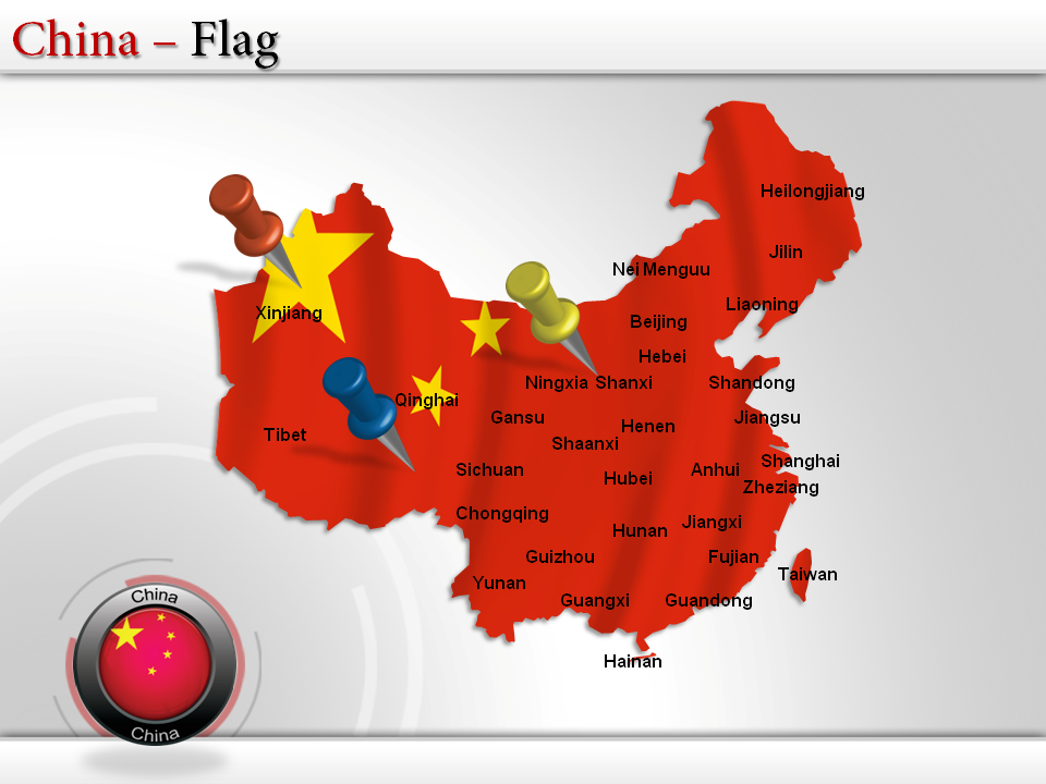 powerpoint map of china map of china pinterest china map map