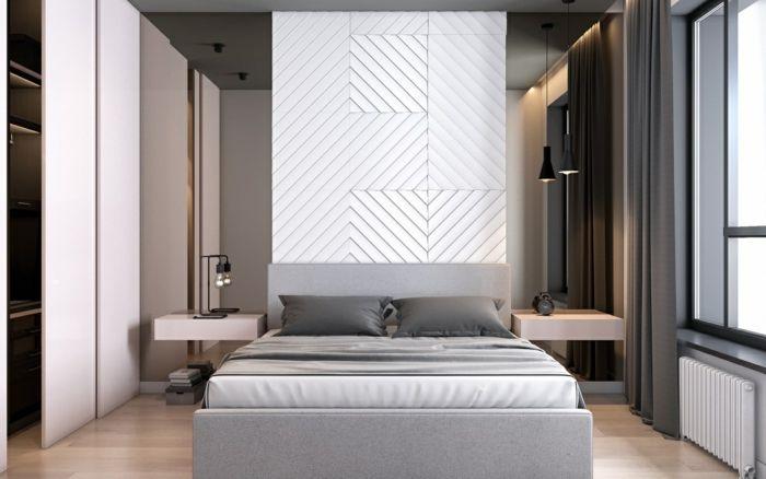 ▷ 1001 + Ideen für Schlafzimmer grau gestalten zum Entlehnen - schlafzimmer gestalten grau