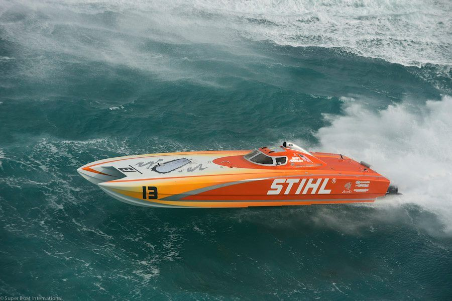 Stihl engineers show off their skills with extreme sports