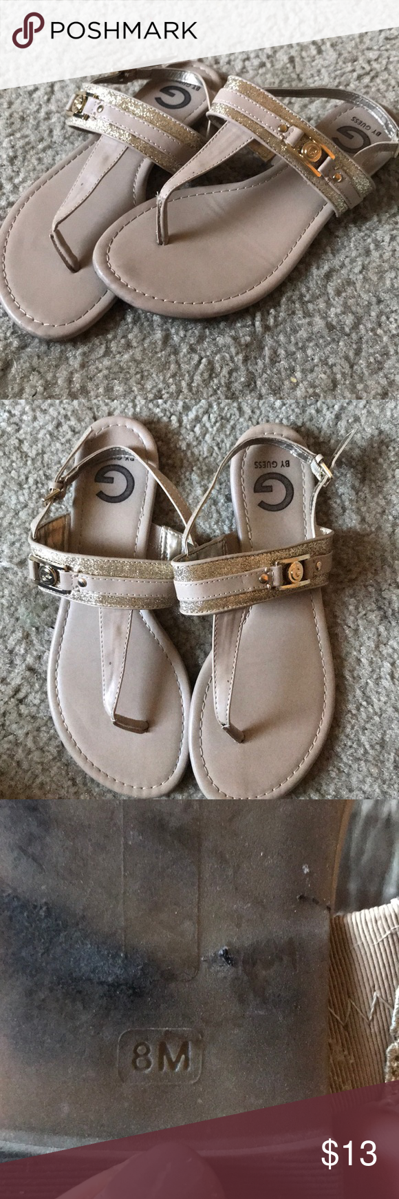 f21fc3ef4067 GUESS WOMENS SANDALS Super cute Guess sandals. Need to go ASAP MOVING OUT  NEXT WEEK