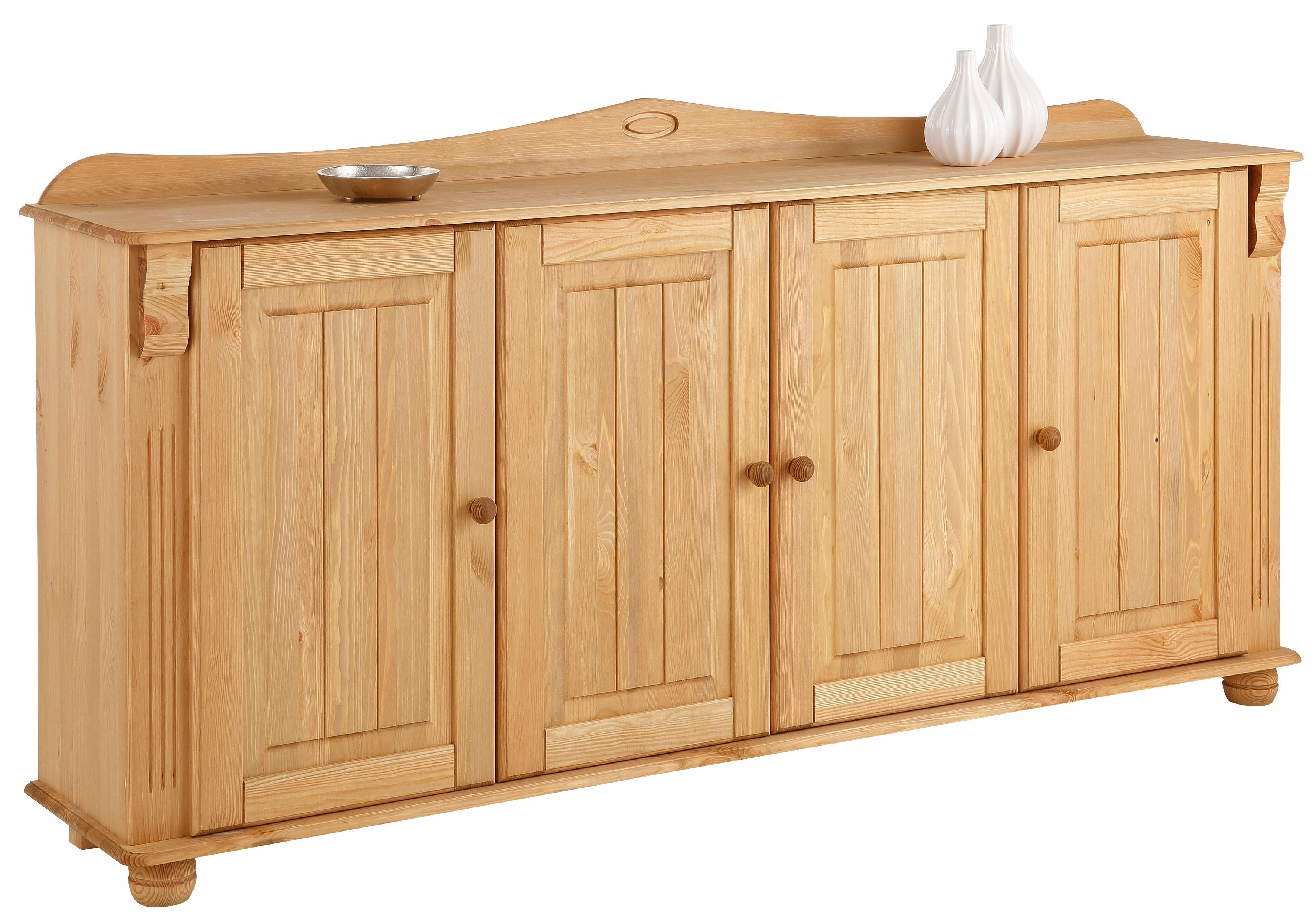 Home Affaire Sideboard Adele Sideboard Weiss Hochglanz