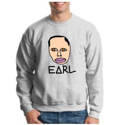 aa1517baff1a Amazon.com  EARL CREWNECK Sweatshirt OFWGKTA Wolf Gang YMCMB ODD FUTURE   Clothing