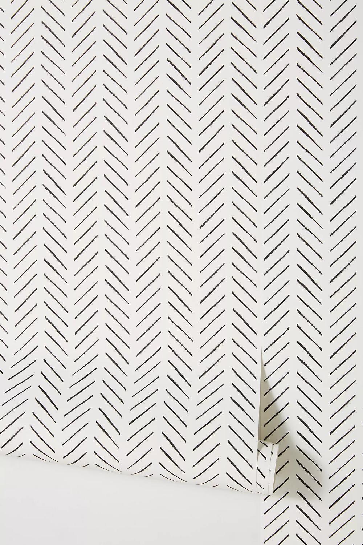 Magnolia Home Pick Up Sticks Wallpaper Anthropologie Magnolia Homes Home Wallpaper Farmhouse Wallpaper